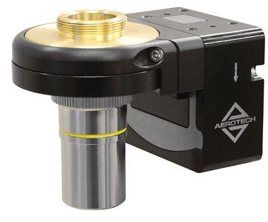 Aerotech QFOCUS QF-46Z Single-Axis, Microscope Objective, Piezo Nanopositioning Stage