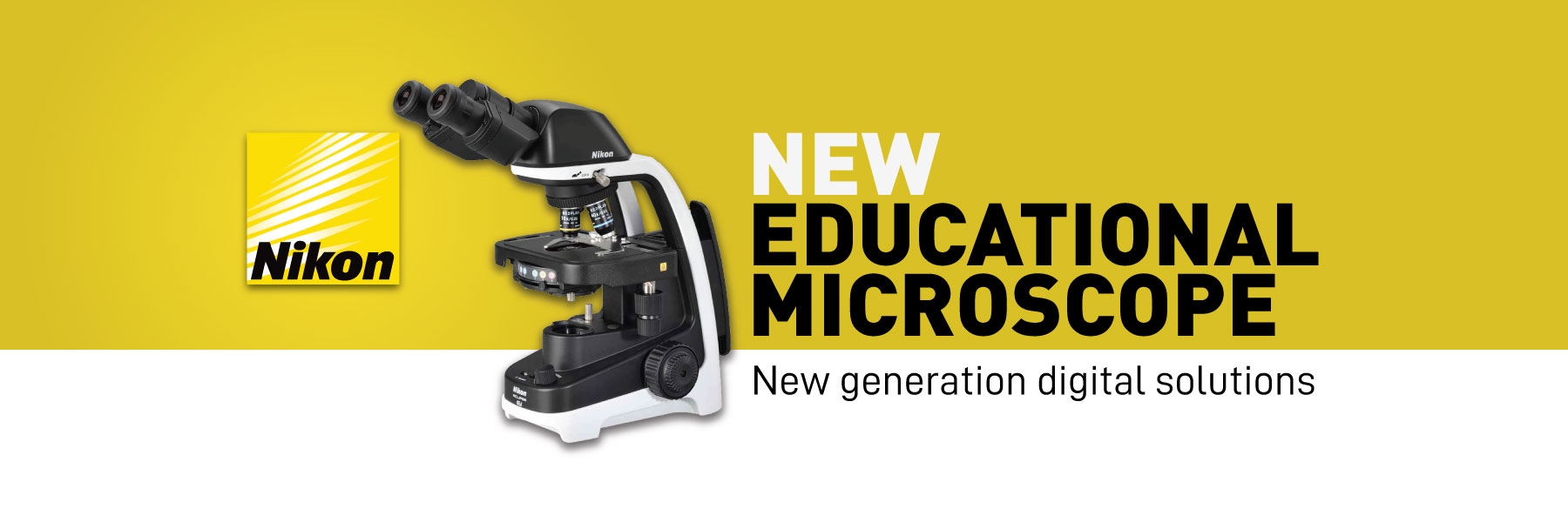 Nikon New Educational Microscopes