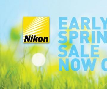 Nikon Early Spring Sale is Now On !