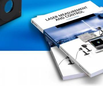 New 2019 Laser Measurement and Control Catalogue