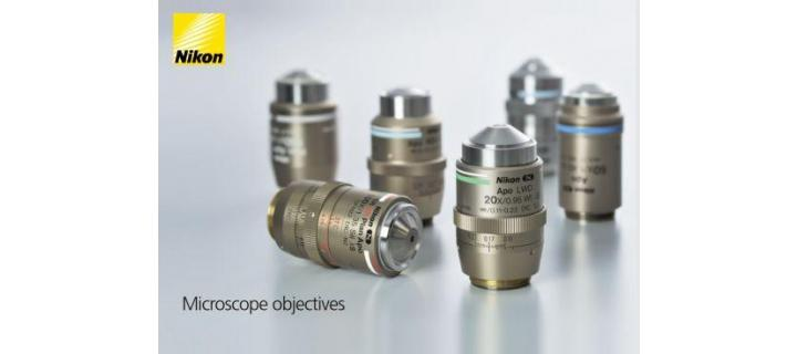 New Microscope Objectives Brochure